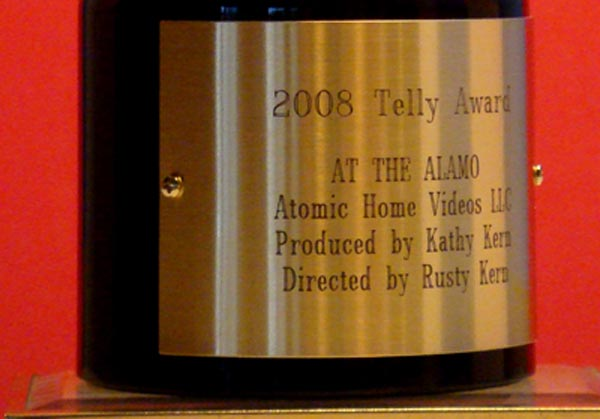 Atomic Home Video Telly Award