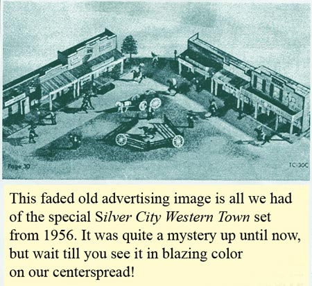 Playset Magazine - Marx Silver City