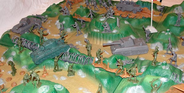 Playset Magazine - Marx Battleground Terrain