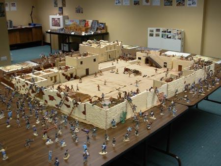 Toy Replica Of The Alamo 33